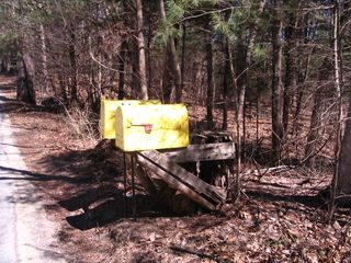 Yellow mailboxes 040311
