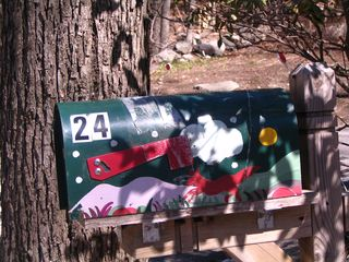 Red fox folk mailbox 040311