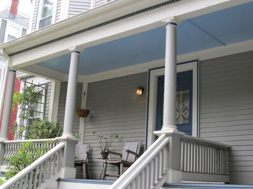 Blue porch 080611