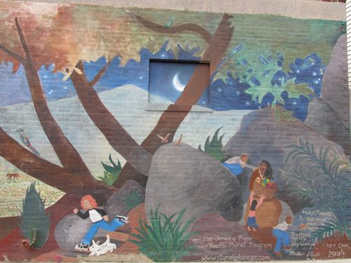Children mural detail 080611