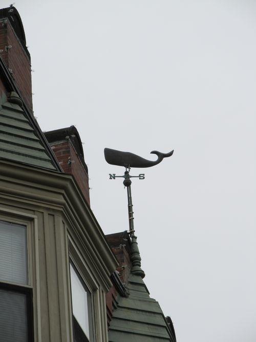 Whale weathervane center st jp 080611
