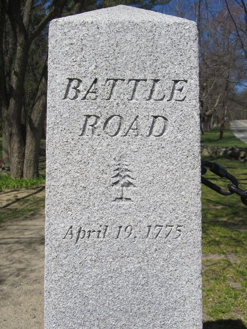 Battle road marker 040612