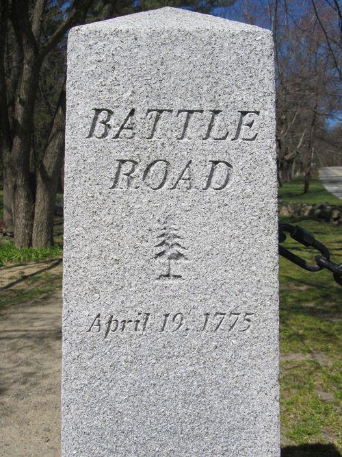 Battle road marker 040612