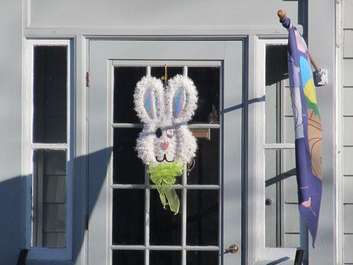 Fuzzy bunny door 040412