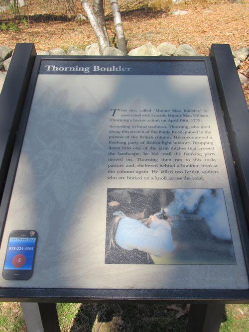 Thorning boulder sign 040712