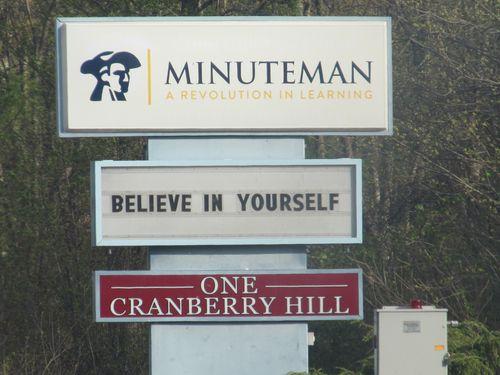 Minuteman sign 042412