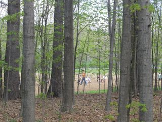 Volunteers and woods 042012