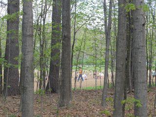 Volunteers and woods 042012