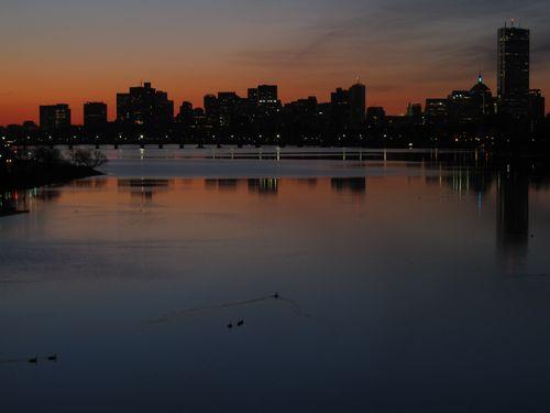 Sunrise ducks 040713