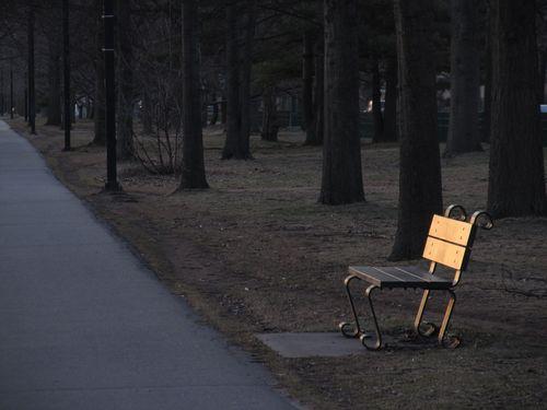 Park bench 040713